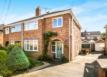 Thumbnail 3 bed semi-detached house for sale in Hawthorn Road, Christleton, Chester