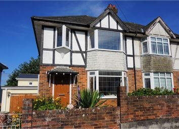Thumbnail 3 bedroom semi-detached house for sale in Reddington Road, Plymouth