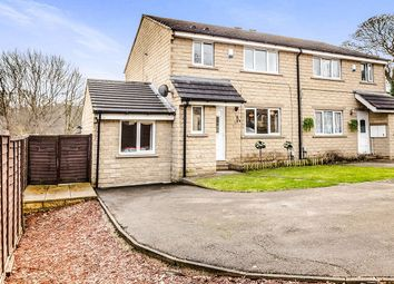 Thumbnail 3 bedroom semi-detached house for sale in South Royd, Almondbury, Huddersfield