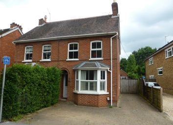 Thumbnail 4 bed semi-detached house to rent in Aldershot Road, Church Crookham