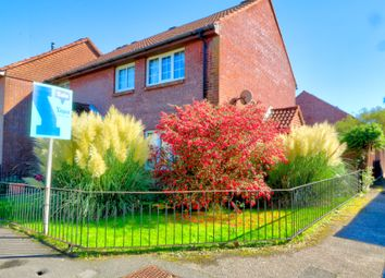 Thumbnail 3 bed end terrace house for sale in Churchill Walk, Hawkinge, Folkestone