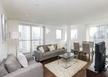 Thumbnail 3 bed flat to rent in Duckman Tower, 3 Lincoln Plaza, London