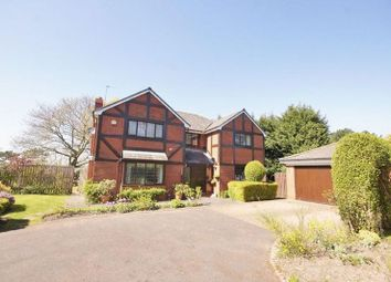 Thumbnail 4 bed detached house for sale in Chenotrie Gardens, Noctorum, Wirral