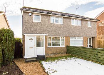 Thumbnail 3 bed semi-detached house for sale in Eskbank Road, Bonnyrigg, Midlothian
