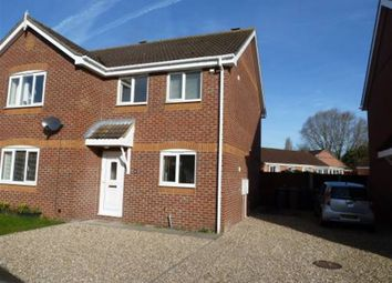 Thumbnail 2 bed property to rent in Meadowbrook, Ruskington, Sleaford, Lincolnshire