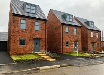 Thumbnail 3 bedroom detached house for sale in High Street, Linton, Swadlincote, Derbyshire