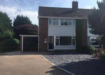 Thumbnail 3 bed semi-detached house for sale in Kingsley Close, Stafford