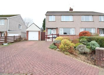 Thumbnail 3 bed semi-detached house for sale in Penylan Close, Bassaleg, Newport