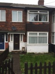 Thumbnail 3 bedroom terraced house to rent in Chamberlain Road, Hull