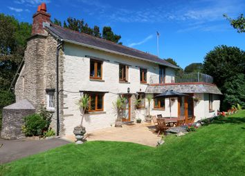 Thumbnail 4 bed detached house for sale in Trenewan, Looe
