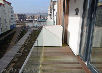 Thumbnail 2 bed flat to rent in Millennium Promenade, Harbourside, Bristol