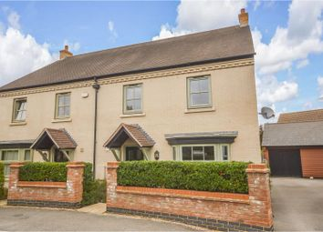 Thumbnail 4 bed semi-detached house for sale in Butler Drive, Lidlington