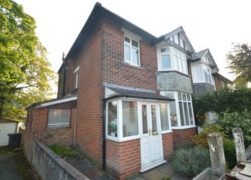 Thumbnail 3 bed semi-detached house for sale in Cromwell Road, Whitefield, Manchester