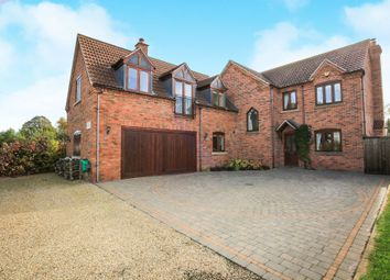 Thumbnail 5 bed detached house for sale in Claypole Road, Stubton, Newark