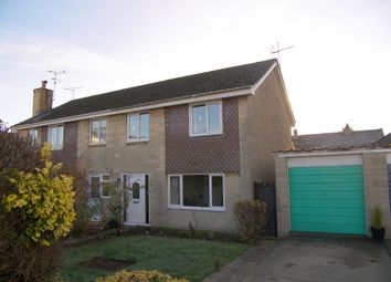 Thumbnail 3 bed semi-detached house for sale in Pine Close, Corsham