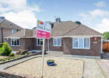 Thumbnail 2 bed semi-detached bungalow for sale in Vicarage Gardens, Plymouth