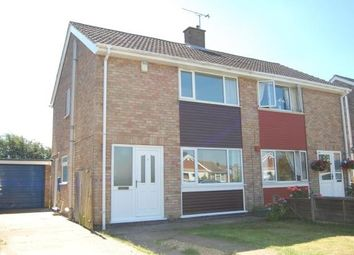 Thumbnail 3 bed semi-detached house to rent in Minster Drive, Cherry Willingham, Lincoln