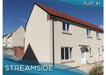 Thumbnail 3 bed semi-detached house for sale in Plot 81, Dukes Way, Axminster