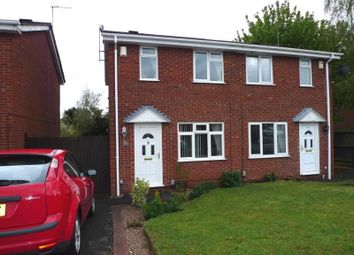 Thumbnail 2 bed semi-detached house to rent in Whittingham Drive, Stafford