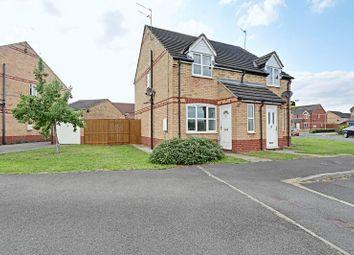Thumbnail 2 bedroom semi-detached house for sale in Marbury Park, Kingswood, Hull