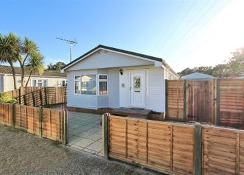 Thumbnail 3 bed bungalow for sale in Warren Farm Home Park, Warren Lane, Pyrford, Woking