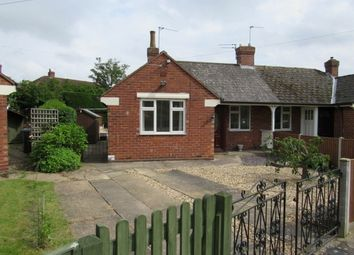 Thumbnail 1 bed semi-detached bungalow to rent in Holly Close, Lincoln
