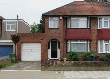 Thumbnail 3 bedroom semi-detached house for sale in Broomgrove Gardens, Edgware