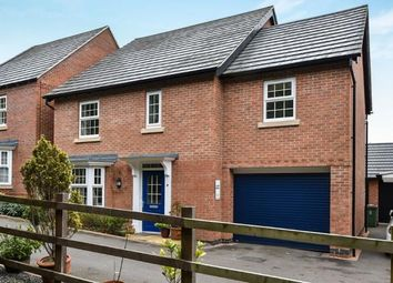Thumbnail 4 bed detached house for sale in Flora Lane, Measham, Swadlincote