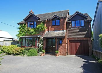 Thumbnail 4 bed detached house for sale in Ramley Road, Pennington, Lymington