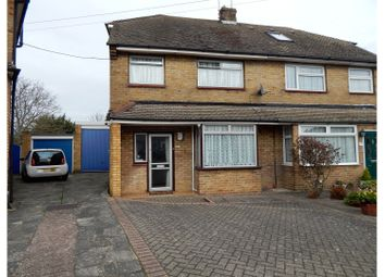 Thumbnail 3 bed semi-detached house for sale in Longmarsh View, Dartford