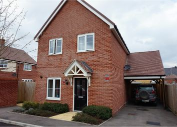 Thumbnail 3 bed detached house for sale in Ryeland Way, Ashford