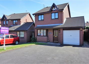 Thumbnail 3 bedroom detached house for sale in Whitstable Close, Derby