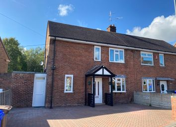 Thumbnail 3 bed semi-detached house for sale in Roundway, Blurton, Stoke-On-Trent, Staffordshire