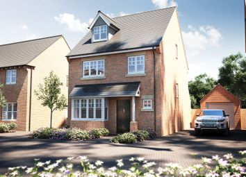 "Thumbnail 4 bedroom detached house for sale in ""The Hemsley"" at Winchester Road, Boorley Green, Botley"