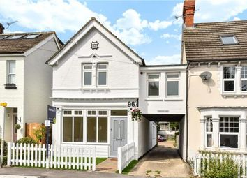 Thumbnail 3 bed semi-detached house for sale in Clarence Road, Fleet