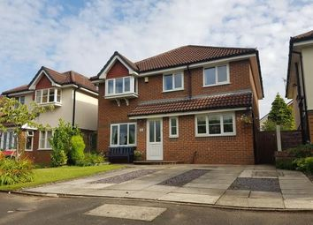 Thumbnail 4 bed detached house for sale in Yeoford Drive, Altrincham, Greater Manchester