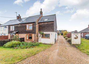 Thumbnail 4 bed semi-detached house for sale in New Road, Welney, Wisbech