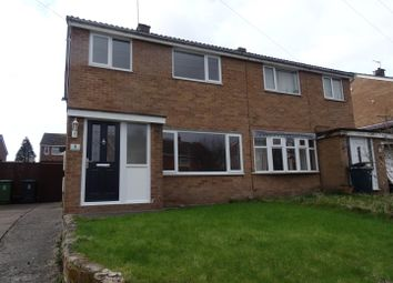Thumbnail 3 bedroom semi-detached house to rent in Burnell Close, Bayston Hill, Shrewsbury