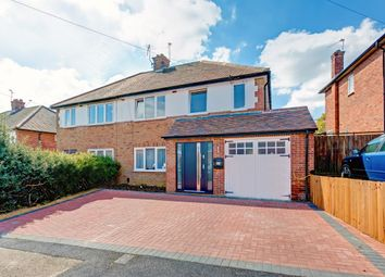 Thumbnail 4 bedroom semi-detached house for sale in Pondfield Crescent, St.Albans