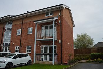 Thumbnail 2 bed flat for sale in Rossall Court, Moreton, Wirral