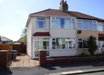 Thumbnail 3 bed semi-detached house to rent in Bleasdale Avenue, Thornton-Cleveleys, Lancashire