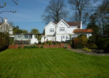 Thumbnail 4 bed detached house for sale in Woodlands Lodge, Main Road, Barnoldby-Le-Beck, Grimsby