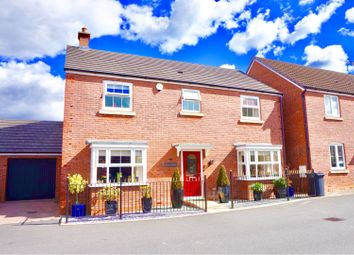 Thumbnail 4 bed detached house for sale in Bampton Castle Way, Kingsway, Gloucester