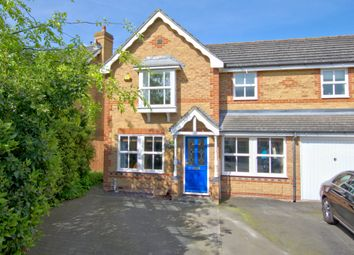 Thumbnail 3 bed semi-detached house for sale in Carrick Close, Cambridge