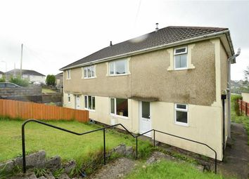Thumbnail 3 bed semi-detached house for sale in Heol Coroniad, Beddau, Pontypridd