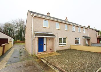 Thumbnail 3 bed semi-detached house for sale in 5 Aird Crescent, Castle Kennedy