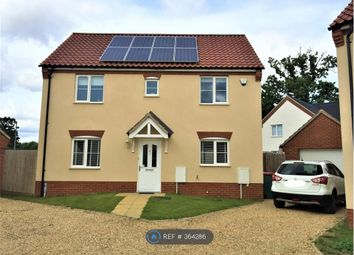 Thumbnail 3 bed detached house to rent in Boundary Way, Diss