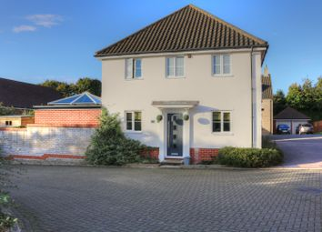 Thumbnail 3 bed detached house for sale in Marauder Road, Norwich