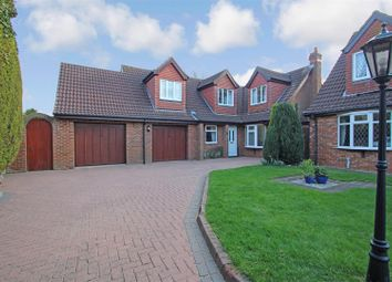 Thumbnail 4 bed detached house for sale in All Saints Close, Waltham, Grimsby