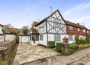Thumbnail 3 bed semi-detached house for sale in Station Road, Lingfield